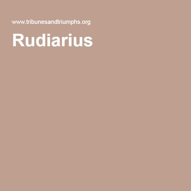 Rudiarius