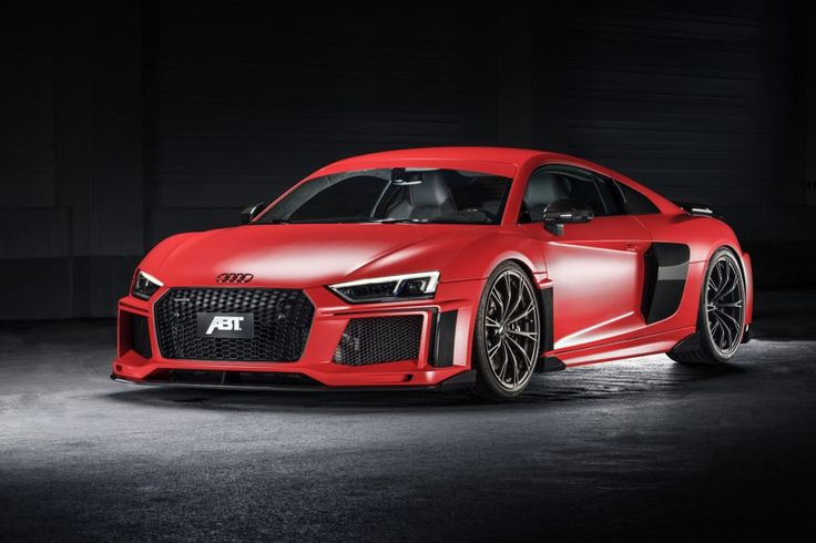 ABT Refined the new Audi R8 and brought it to Geneva!