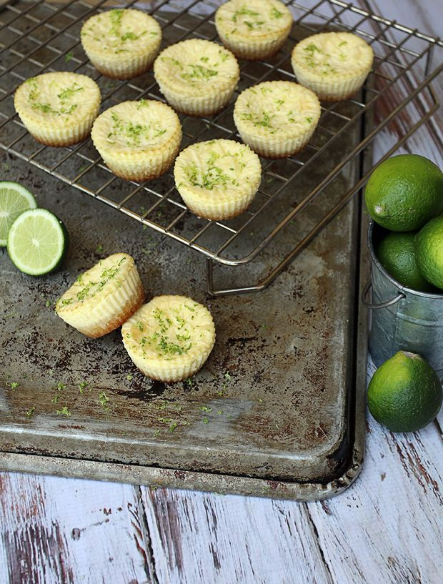 Low Carb Key Lime Cheesecakes | Ruled Me | Keto - Snacks and Sweets ...