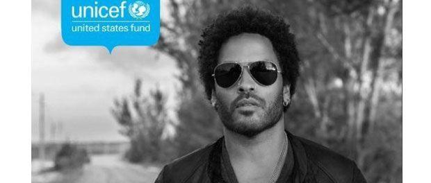 Binecunoscutul cantaret si actor american Lenny Kravitz a decis sa isi aduca contributia intr-una dintre initiativele UNICEF...