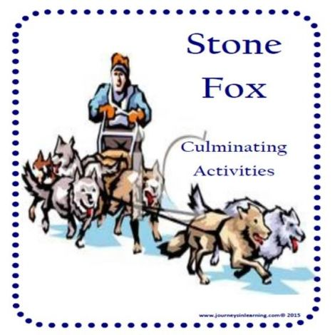 Stone Fox Activities: 20 pages of fun to keep your kids motivated while reading…