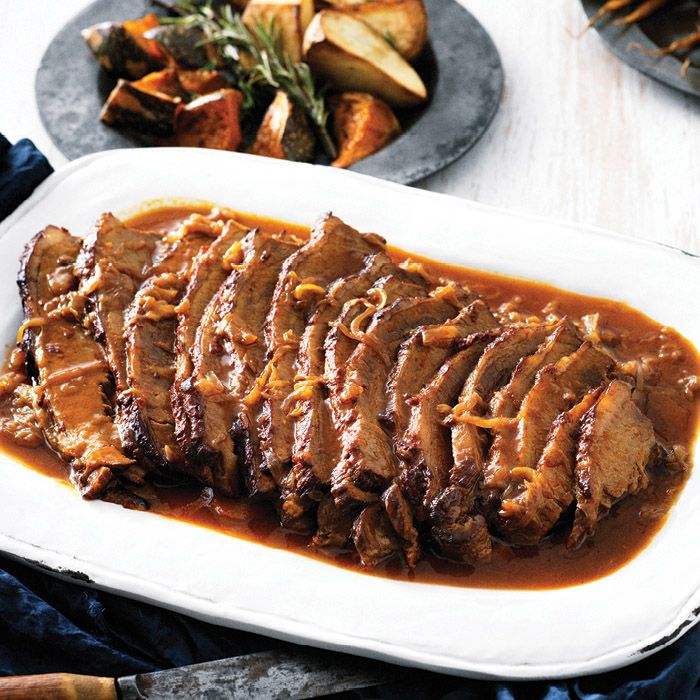 This onion braised beef brisket recipe is a must try specially this winter! The meat is so tender it will melt in your mouth. Place an order online now!