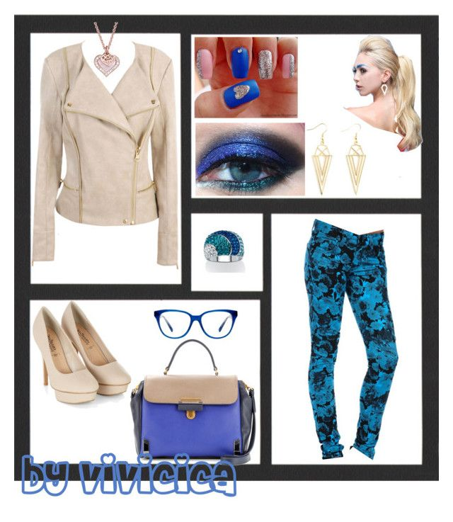 """""""punch of colour"""" by vivicica on Polyvore featuring Dollhouse, Urban Decay, By Emily, Marc by Marc Jacobs, Coach and Charlotte Russe"""