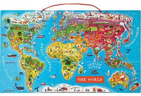 janod magnetická mapa světa - Hledat Googlem