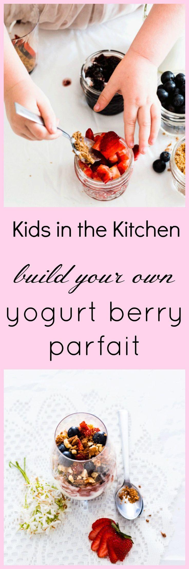 Kids in the Kitchen: Yogurt Berry Parfait