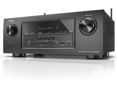Denon AVR-S900W 7.2-channel home theater receiver with Wi-Fi®, Bluetooth®, and Apple AirPlay® $600