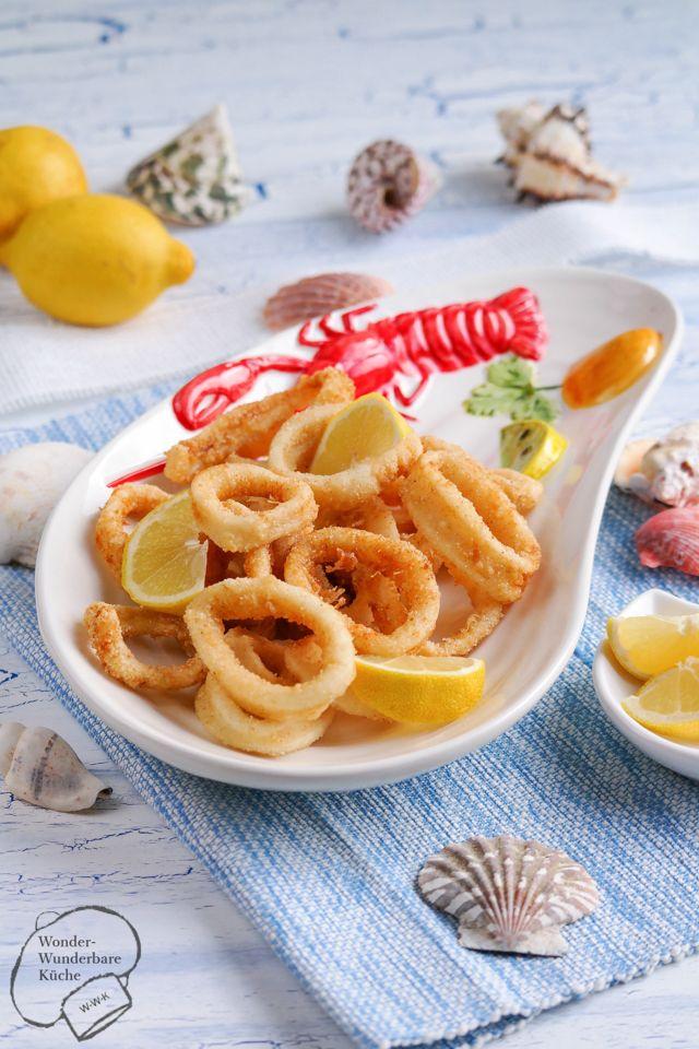 Wonder Wunderbare Küche: Calamari fritti