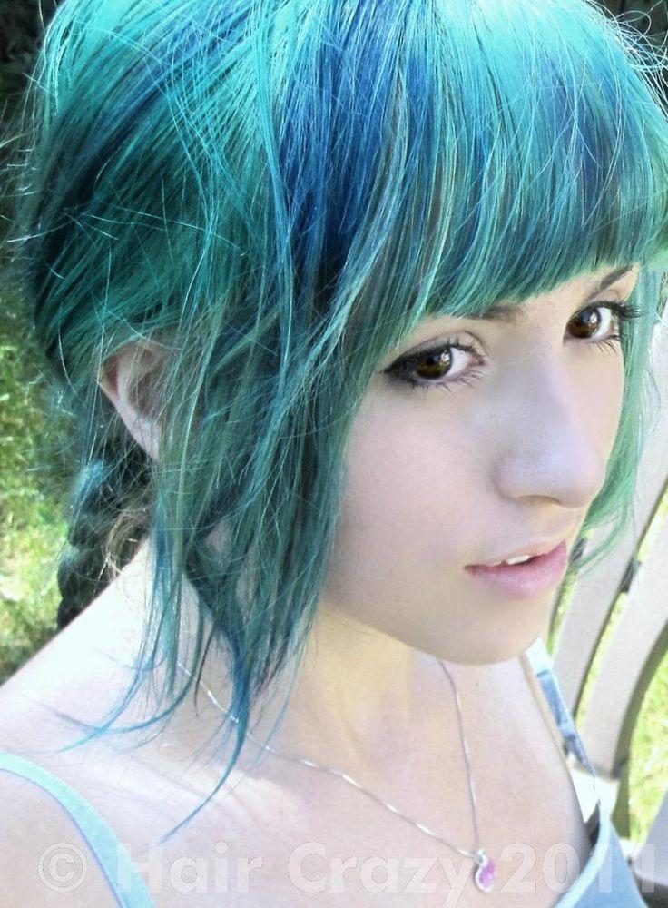 lil_artizt -   - -   - Manic Panic Atomic Turquoise   - Manic Panic Shocking Blue