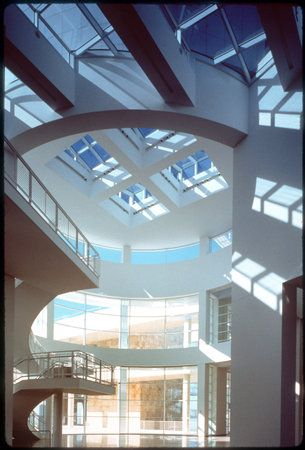 The J. Paul Getty Museum.  Wonder where this is? I don't remember the one in LA looking like that.