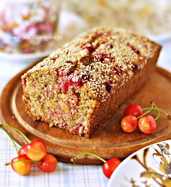 ciasto z owocami bez cukru
