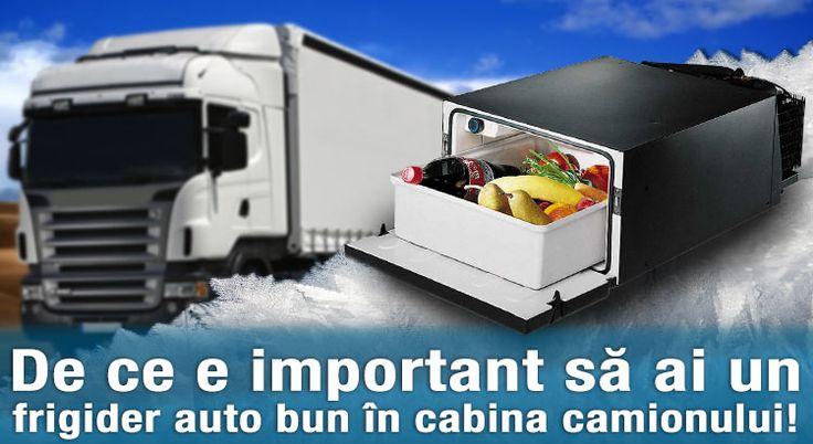 Un frigider auto, probabil că nu este pe lista ta de lucruri care nu trebuie să lipsească din cabina camionului. Află de ce e important să ai un frigider auto bun cu tine în curse!