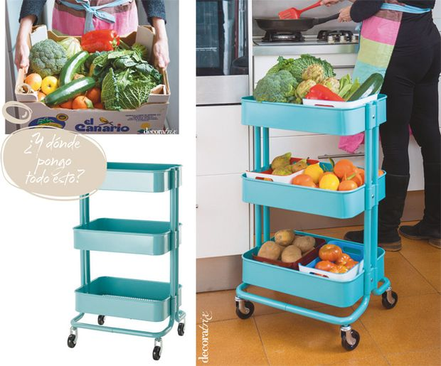 337 best images about rincones organizaci n on pinterest - Carrito de ikea ...