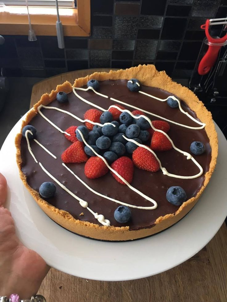 Chocolate Ganache Tart/Pie by refellini on www.recipecommunity.com.au