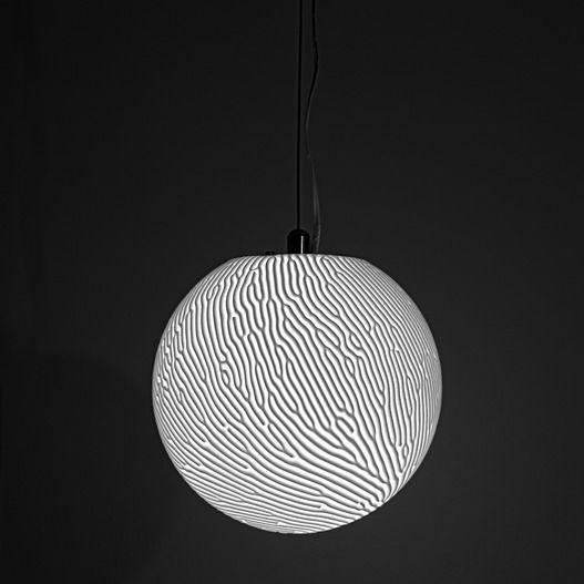 Nervous System Shop Reaction Lamp Designs Inspired