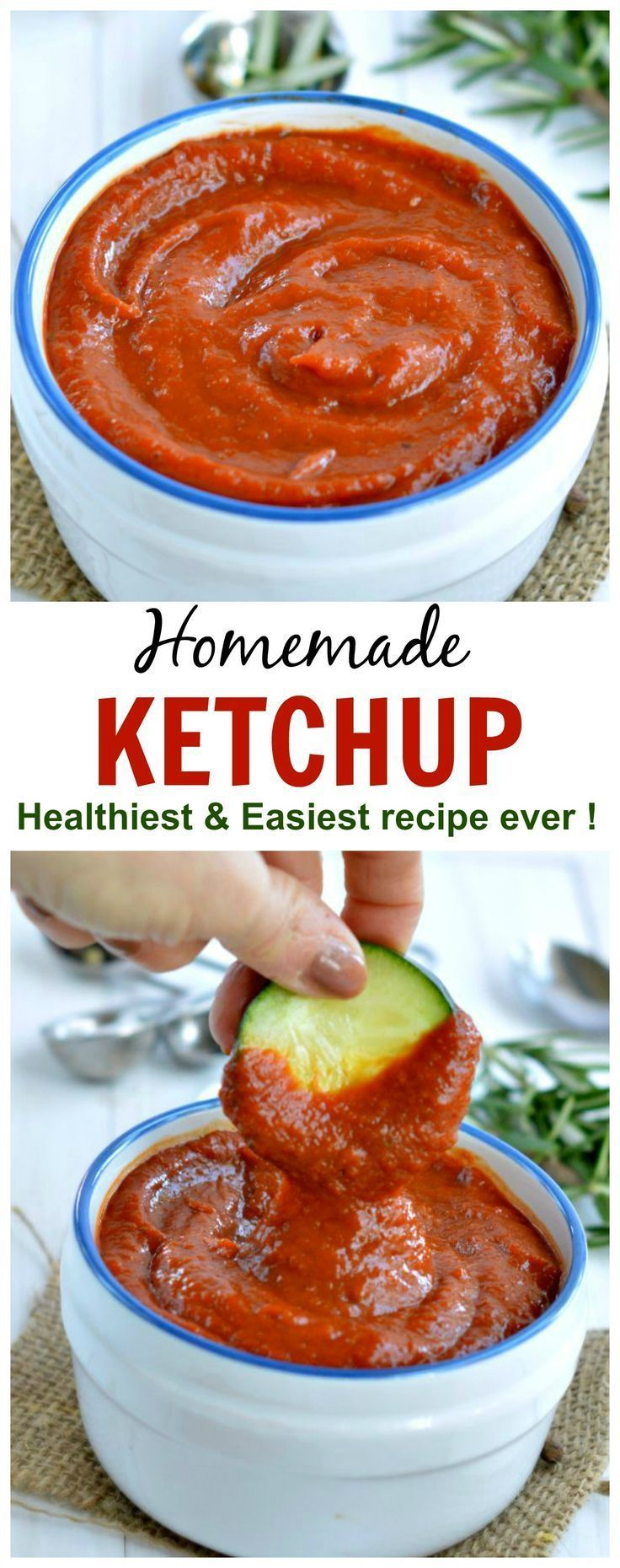 Homemade ketchup ! Sugar free only veggies! Easy for moms to makes and taste like heinz ketchup, really!