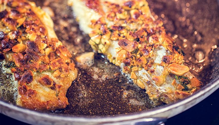 Almond & Pecan Crusted Tilapia, Enjoy & Share #eattilapia