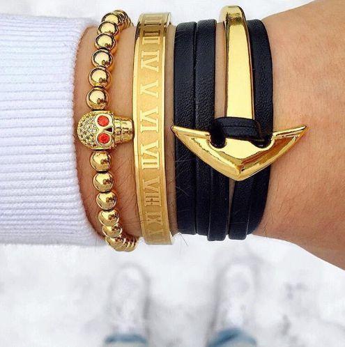 Roman Style Bracelets - More Styles Available