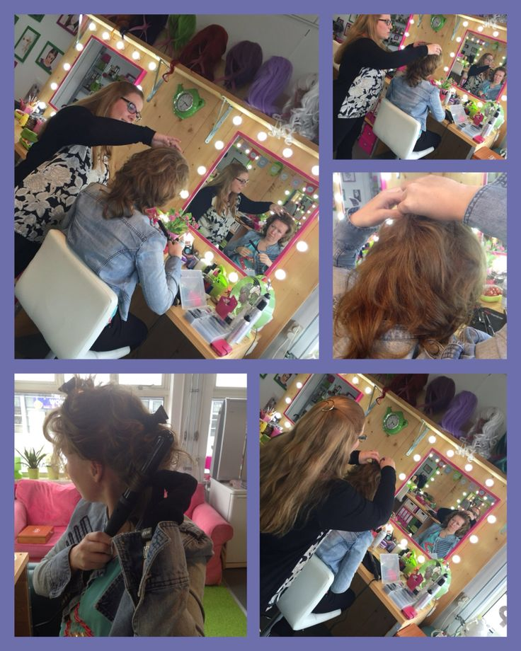 Hairstyling workshop gegeven