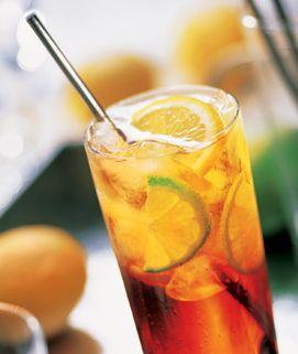 Torani Light Mango Refresher - or use other Torani SF fruity flavor syrups.