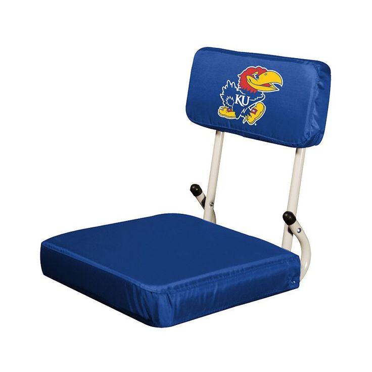 Kansas Jayhawks Hardback Seat, Multicolor