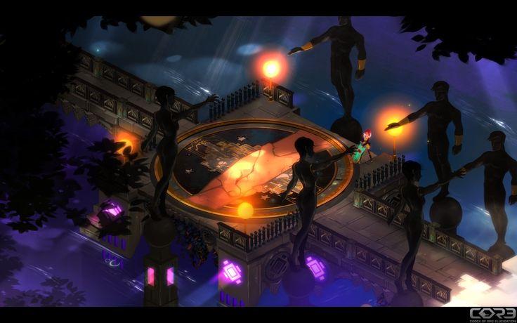 """At the edge of heaven"" / Transistor Screenshot"