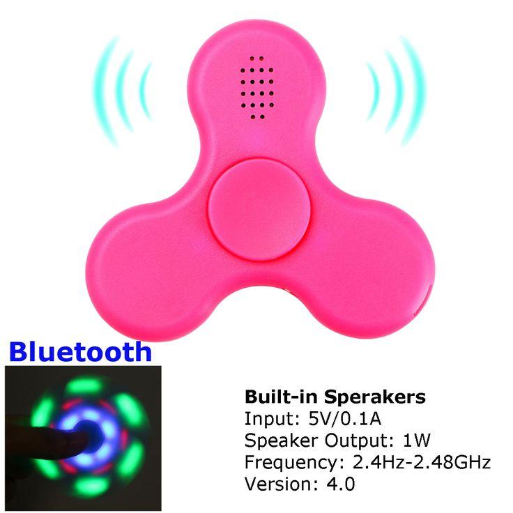 ECUBEE Bluetooth Music LED Hand Spinner