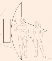 The Pioneer plaques are a pair of gold-anodized aluminium plaques which were placed on board the 1972 Pioneer 10 and 1973 Pioneer 11 spacecraft, featuring a pictorial message, in case either Pioneer 10 or 11 is intercepted by extraterrestrial life. The plaques show the nude figures of a human male and female along with several symbols that are designed to provide information about the origin of the spacecraft.