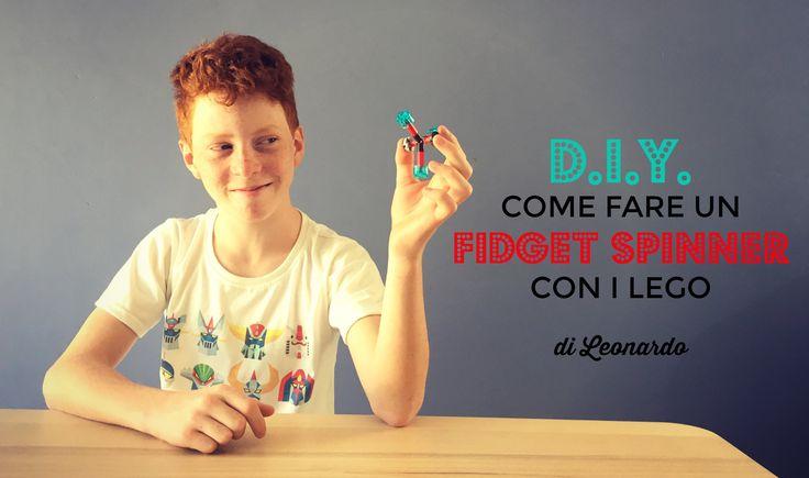 Cos'è il Fidget Spinner e Come Farlo in Casa con i Lego