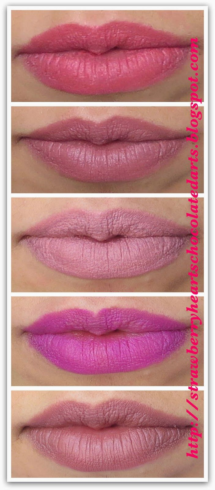 Strawberry Hearts Chocolate Darts: LORAC Alter Ego Lipsticks: Seductress, CEO, Duchess, Jet Setter and Secret Agent