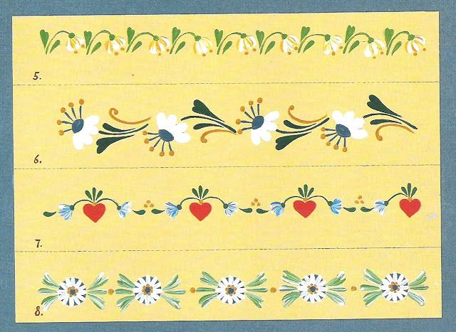 step-by-step Folk ART Flowers - Oksana Volkova - Álbumes web de Picasa