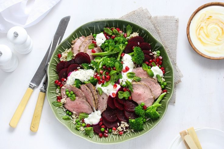 Lamb, Beetroot and Pomegranate Salad | Good Magazine