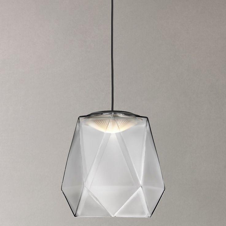 Buy Philips myLiving Italo LED Pendant Light, Grey Online at johnlewis.com