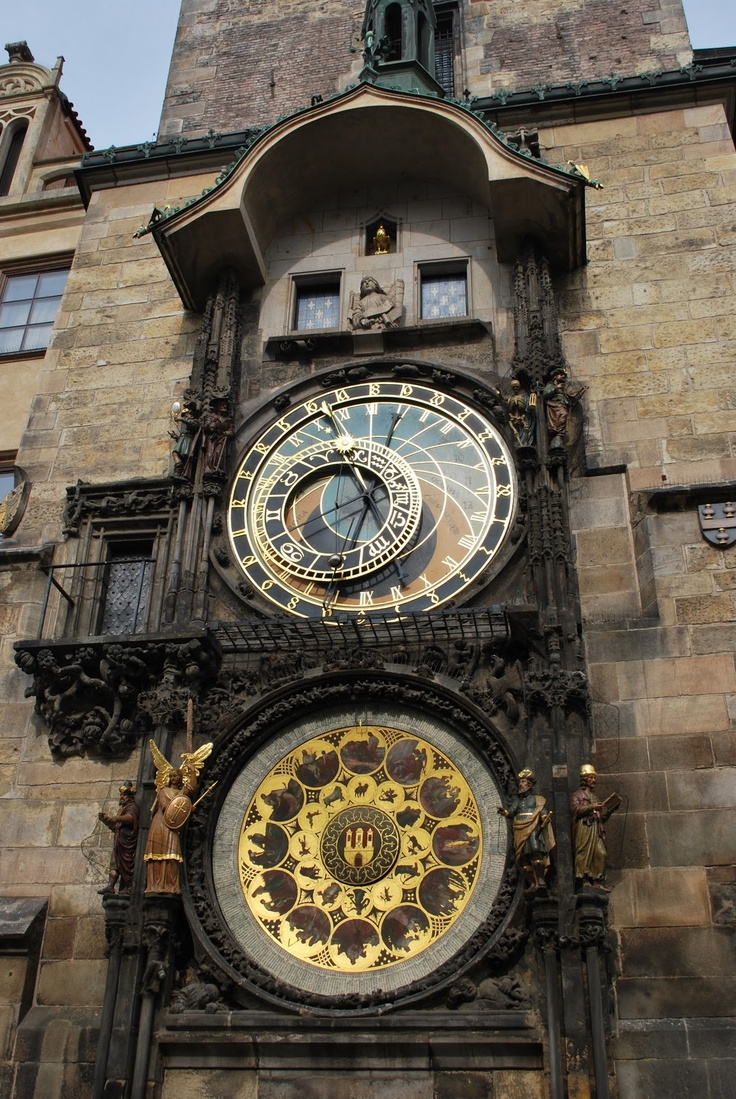 Reloj Astronomico y Astrologico en Praga