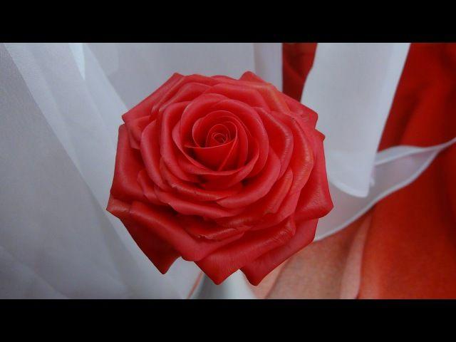 Лепка розы из холодного фарфора. Даже если вы не лепите цветы, то процесс сборки вам тоже подойдёт Мастер-классы по handmade, цветы из фоамирана полимерной глины, холодного фарфора, идеи для творчества у нас в группе https://vk.com/tsveto_maniya