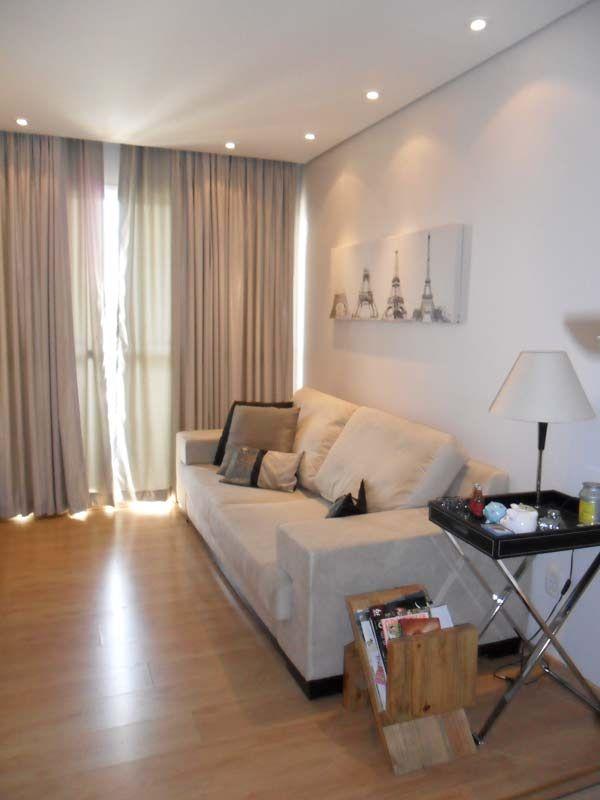 Sala de estar projetada por Luiza Altman.