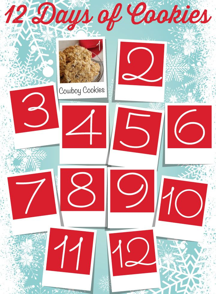 12 Days of Cookies | Old Farmer's Almanac