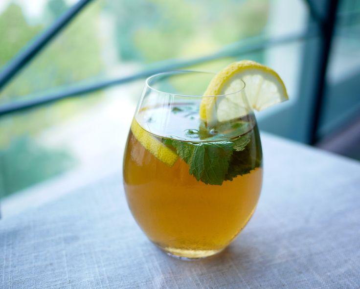 Iced Lemon Green Tea