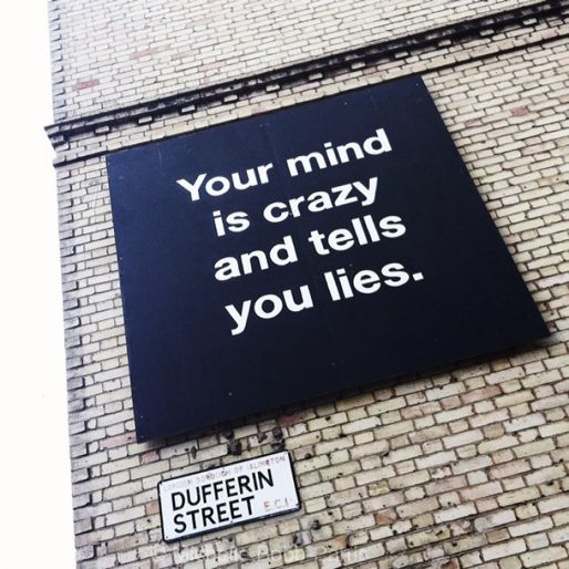Unchained and Insane: Your mind is crazy