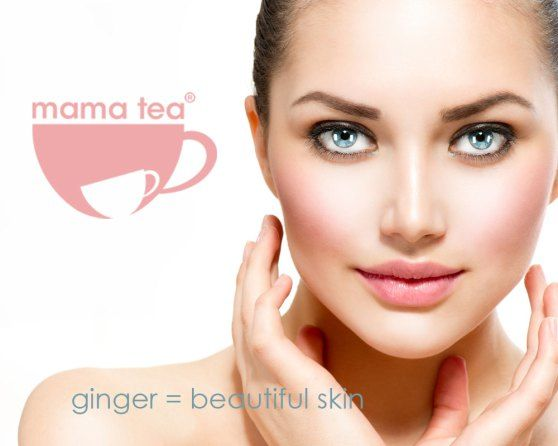 ginger and lemon well being herbal tea | morning mama | mama tea