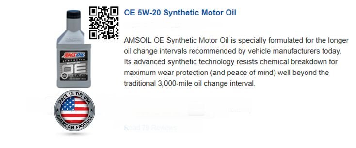 OE 5W-20 Synthetic Motor Oil #amsoil #oil #car #truck #tools #tool #wrench #socket ##workshop #garage #shed #slayermike #MECHANIC #OE #drive #driving #motor #carclub #motorclub #auto  #ClassicCars #AmericanMuscle #Race #Racing #Supercars  #topcars #carshow #musclecar #gas #fuel #lube #engines #Synthetics #trustworthy #reliable  #Coche #camión #Furgonetas #Aceite #Autobús #Autocaravana #cortacésped #motosierra