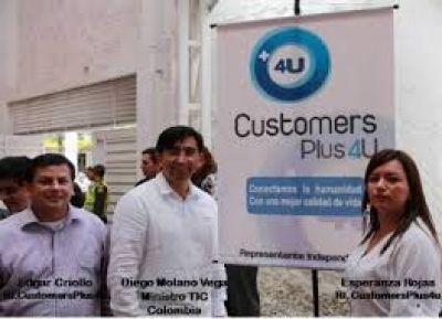 MINISTRO DE LAS TIC´S APRUEBA A CUSTOMERSPLUS4U EN COLOMBIA DESDE 40 DOLARES ADQUIERA SU FRANQUICIA, PUBLIQUE SU NEGOCIO EN LAS REDES SOCIALES, GOOGLE Y EN LOS CENTROS COMERCIALES DIGITALES. Ver este enlace:  http://channel.customersplus4u.com/MariadelPilarSanchez
