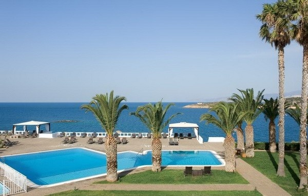 Minos Palace Hotel, Agios Nikolaos - our hotel july 2013