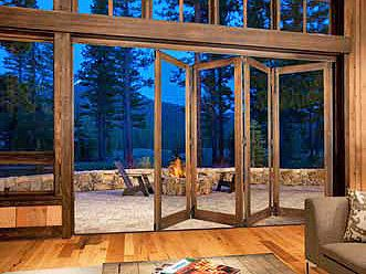 Bi-fold Doors - Sierra Pacific Windows