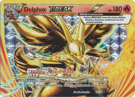 Delphox BREAK 14/124 BREAK RARE - Cards Outlet has FREE SHIPPING on Single Card Orders Over $14.99