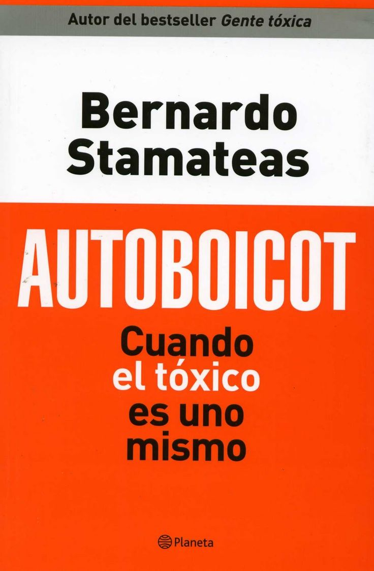 Autoboicot por Bernardo Stamateas - Descargar PDF