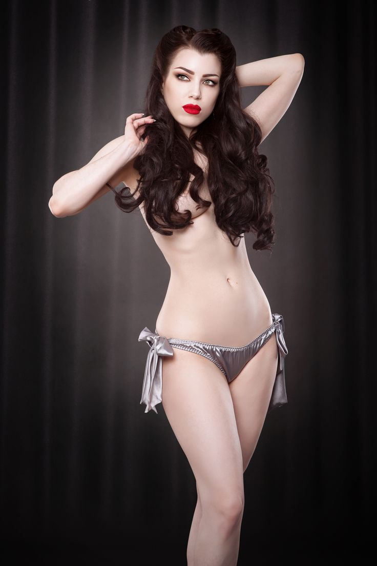 Silver Tie Side Knickers | Kiss Me Deadly