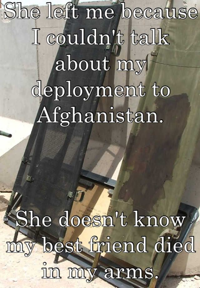 Whisper App. Confessions from the military.