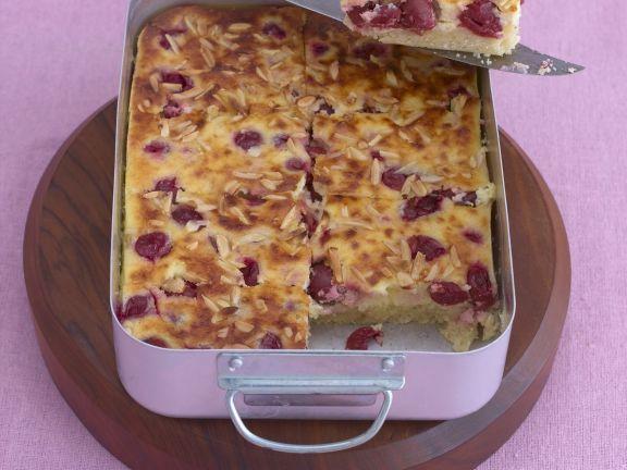 Kirschkuchen mit Schmand ist ein Rezept mit frischen Zutaten aus der Kategorie Kirschkuchen. Probieren Sie dieses und weitere Rezepte von EAT SMARTER!