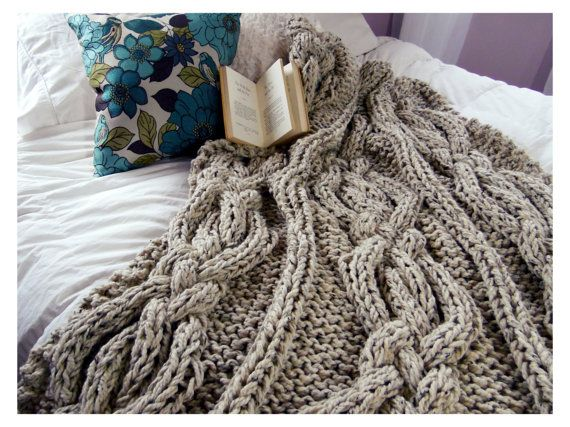 Hey, I found this really awesome Etsy listing at https://www.etsy.com/listing/189507343/twisted-cable-knit-blanket-made-to-order