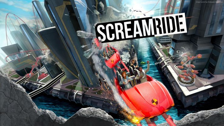 scream ride wallpaper games